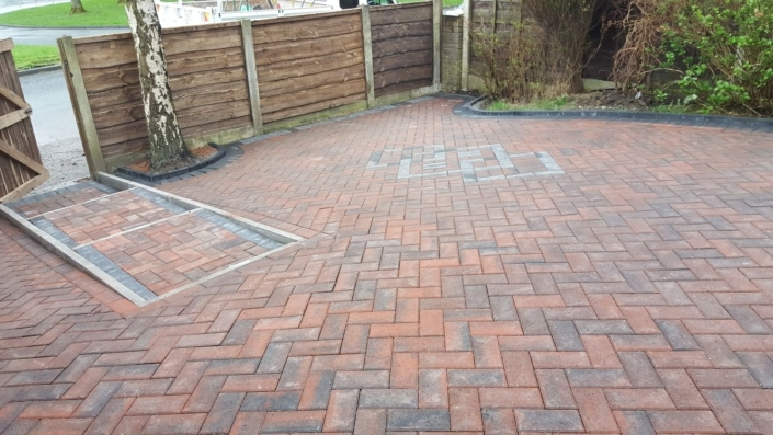 block paving patio Manchester